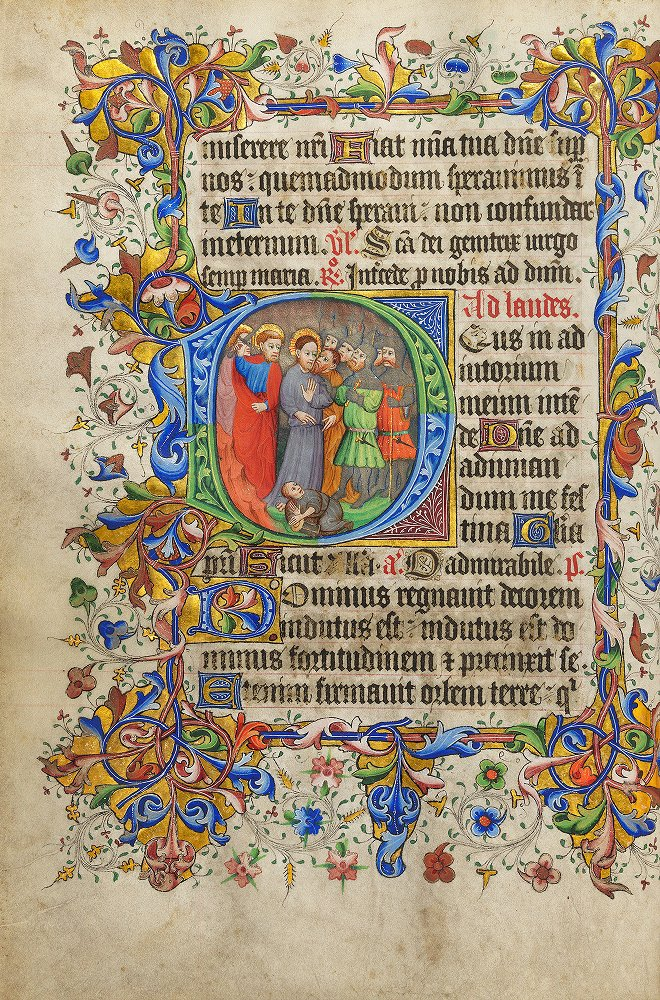 Book of Hours (use of Sarum) (MS 39) [link to full volume]
