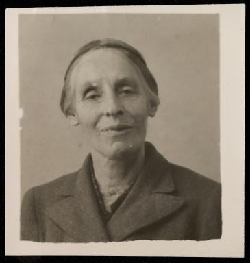Portrait of Marjorie Rackstraw