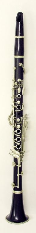 Clarinet. Nominal pitch: B♭ (Buffet-Crampon) : TOP