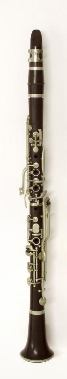 Clarinet. Nominal pitch: B♭ (Louis) : TOP