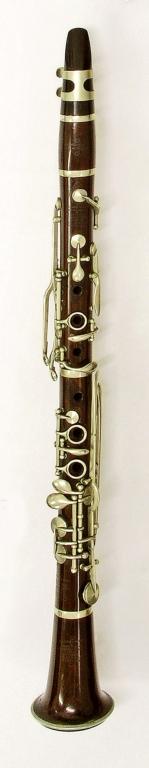 Clarinet. Nominal pitch: C (J.B. Albert) : TOP
