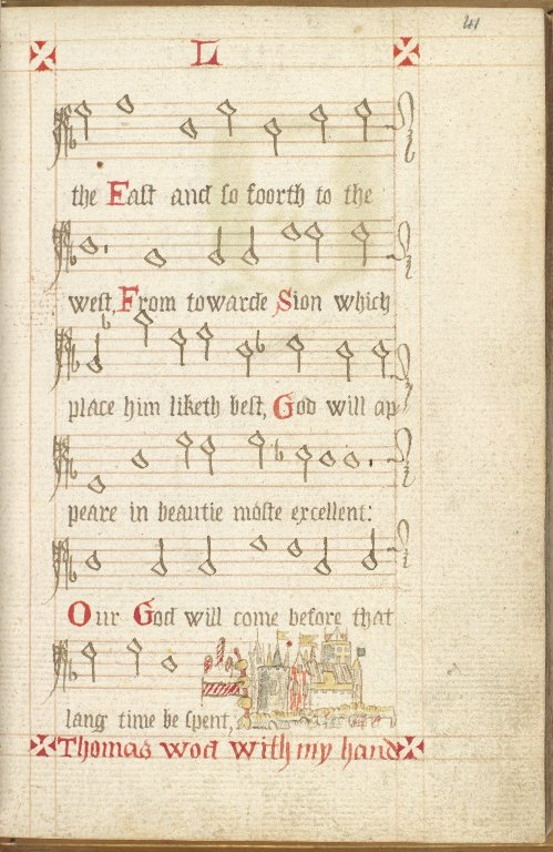 Scottish Psalter, p.41
