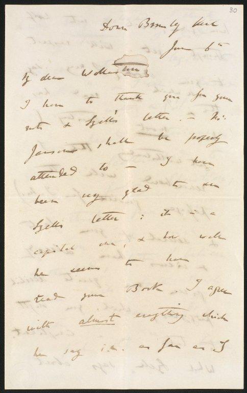Letter, f.30, p.1