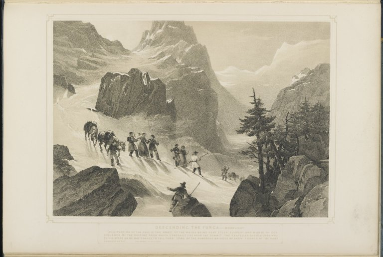 Switzerland, Scenes and Incidents of Travel in the Bernese-Oberland, 1843