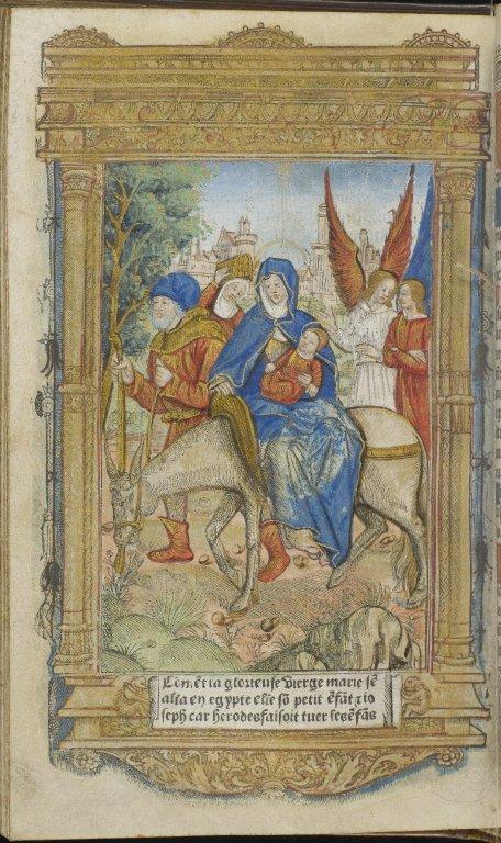 MS 209/Dd.7.107: Heures a Lusaige de Rome