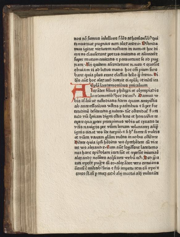 Historia de preliis, Fol.21 verso
