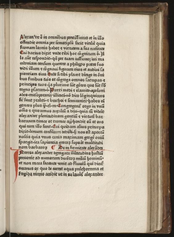 Historia de preliis, Fol.23 recto