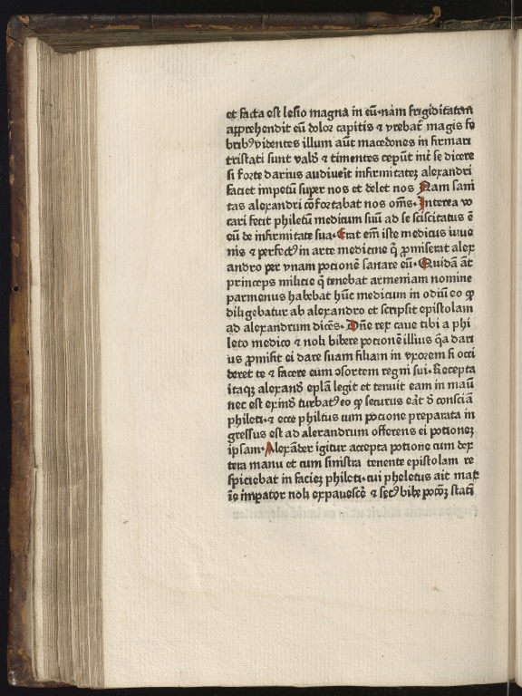 Historia de preliis, Fol.23 verso