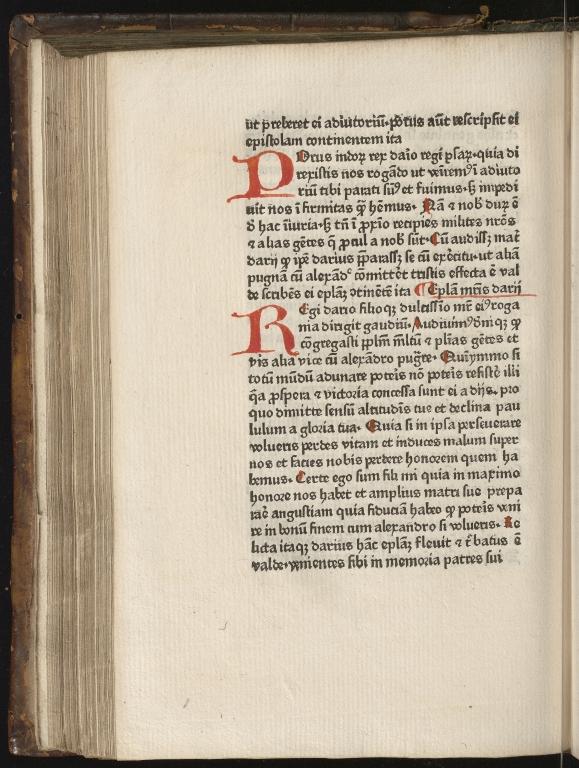 Historia de preliis, Fol.27 verso