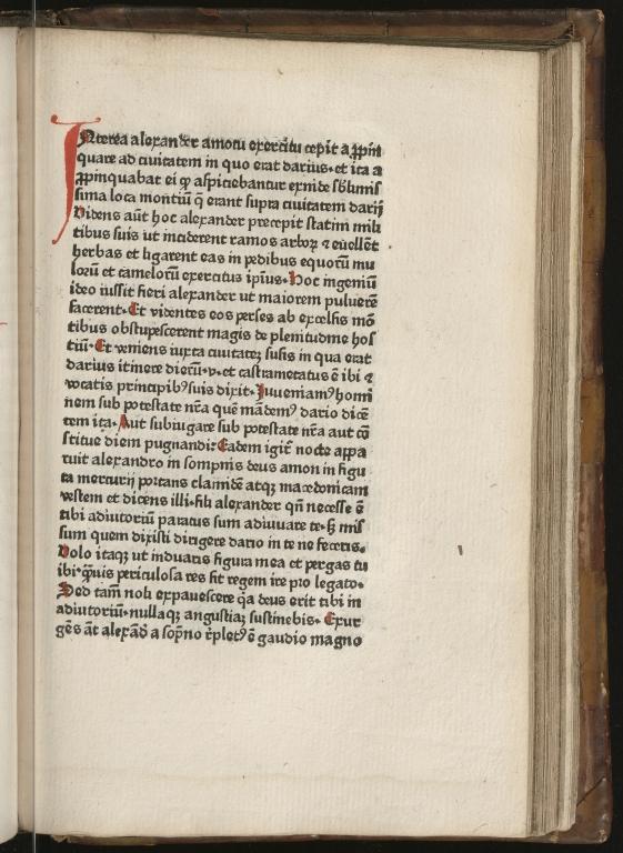 Historia de preliis, Fol.28 recto