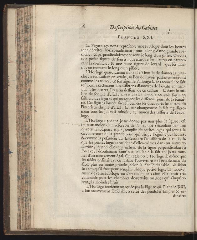 Recueil d'ouvrages curieux de mathematique et de mechanique, ou description du cabinet de Monsieur Grollier de Serviere, p.16