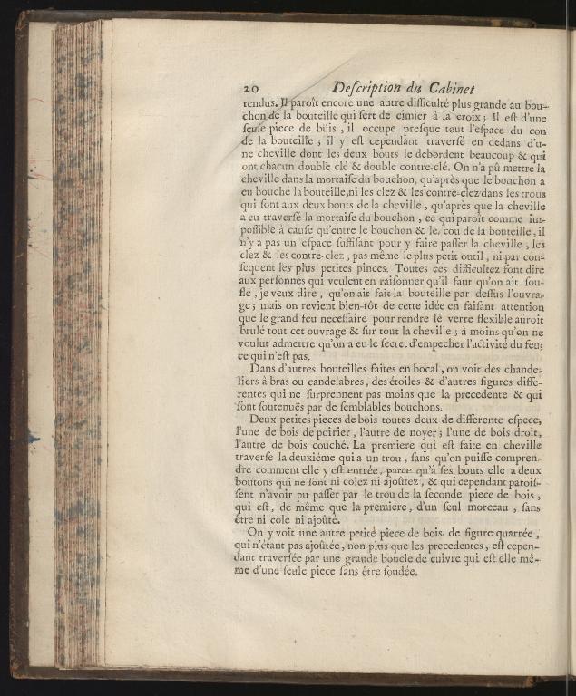 Recueil d'ouvrages curieux de mathematique et de mechanique, ou description du cabinet de Monsieur Grollier de Serviere, p.20