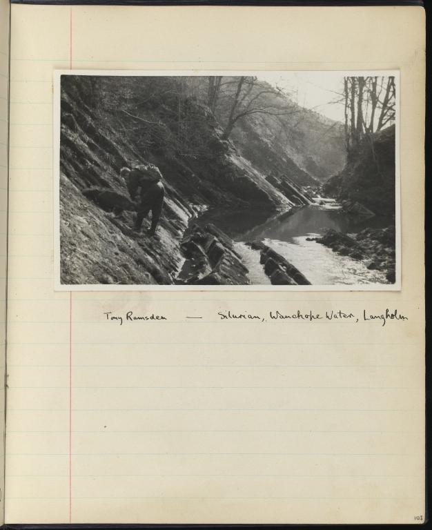 Geology Field Work Notebook, p.103