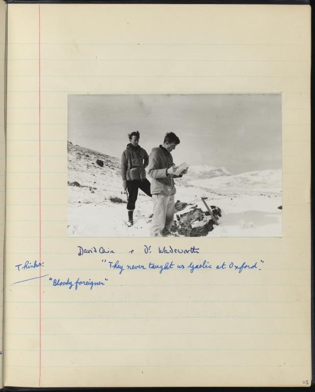 Geology Field Work Notebook, p.115