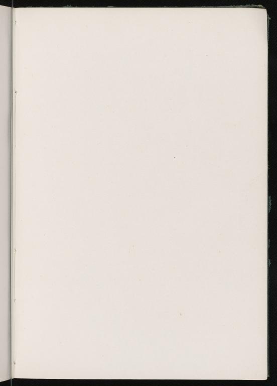 MS Notes VII, Unpaginated