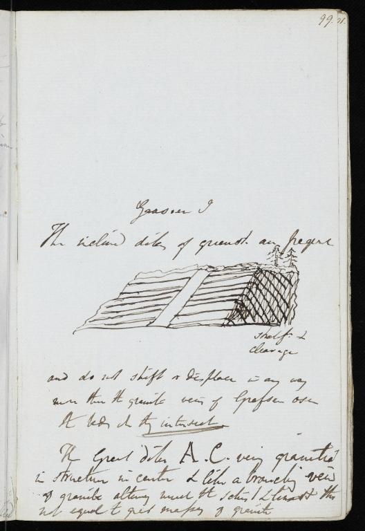 Notebook No.66 - Lyell, Charles (Sir) - p.99
