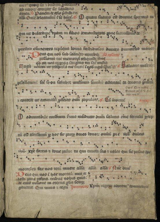 Inchcolm Antiphoner (fragment)