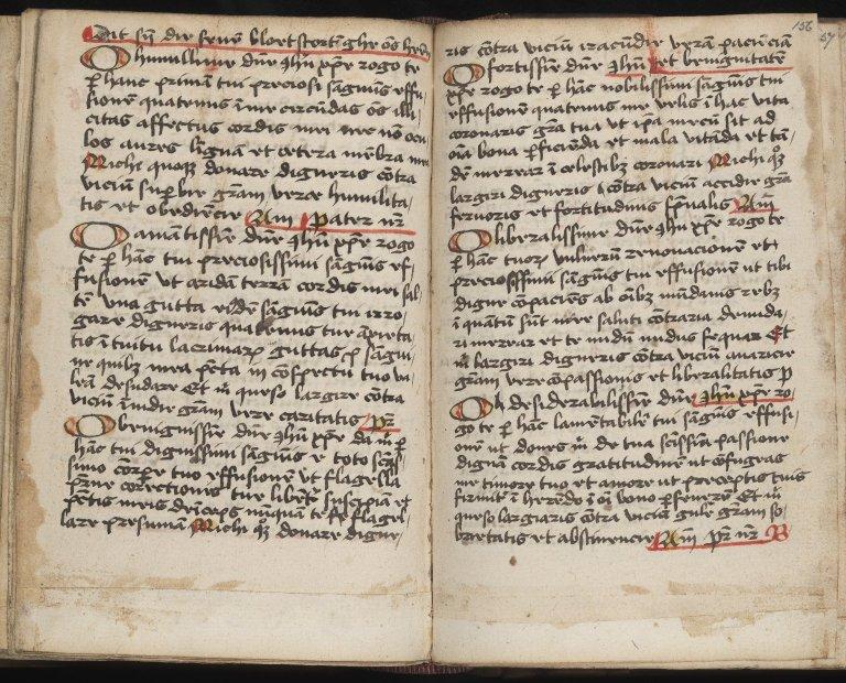 Psalter of Virgin and Prayer Book. Tractatus Varii Mystici (MS 65)