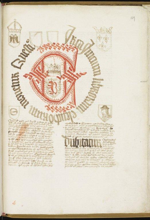 Makculloch manuscript f. 189r (MS 205/ff. 1r-200r)
