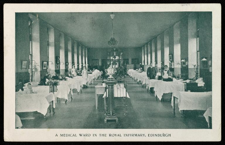 Medical ward, 1907