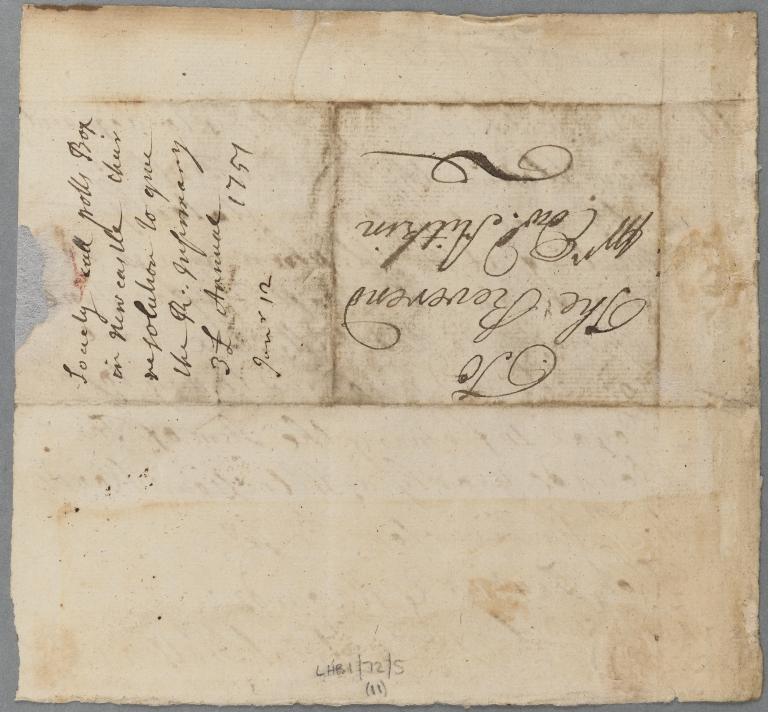 Royal Infirmary of Edinburgh 18th Century Correspondence