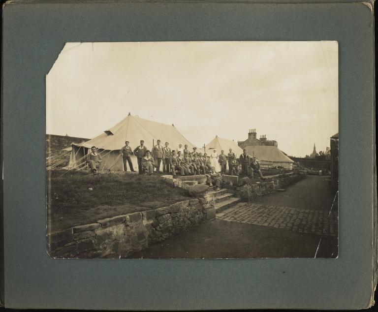 2nd Scottish General Hospital, Craigleith. Photograph album