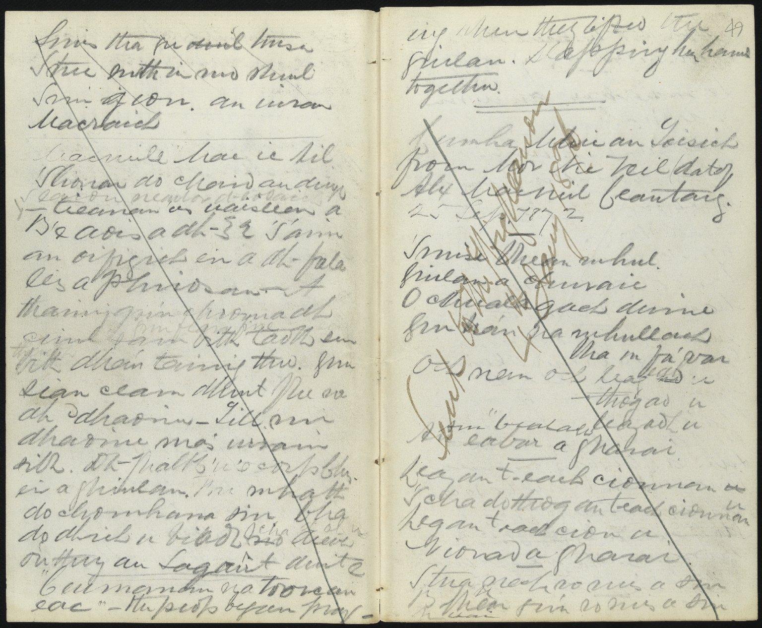 Field Notebook, ff.48v-49r