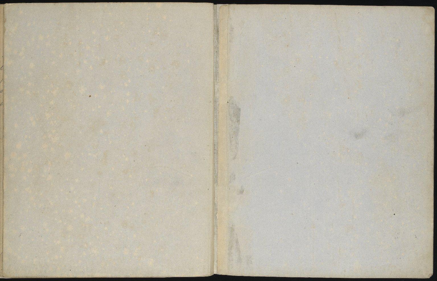 Field Notebook, f.68v & inside back cover