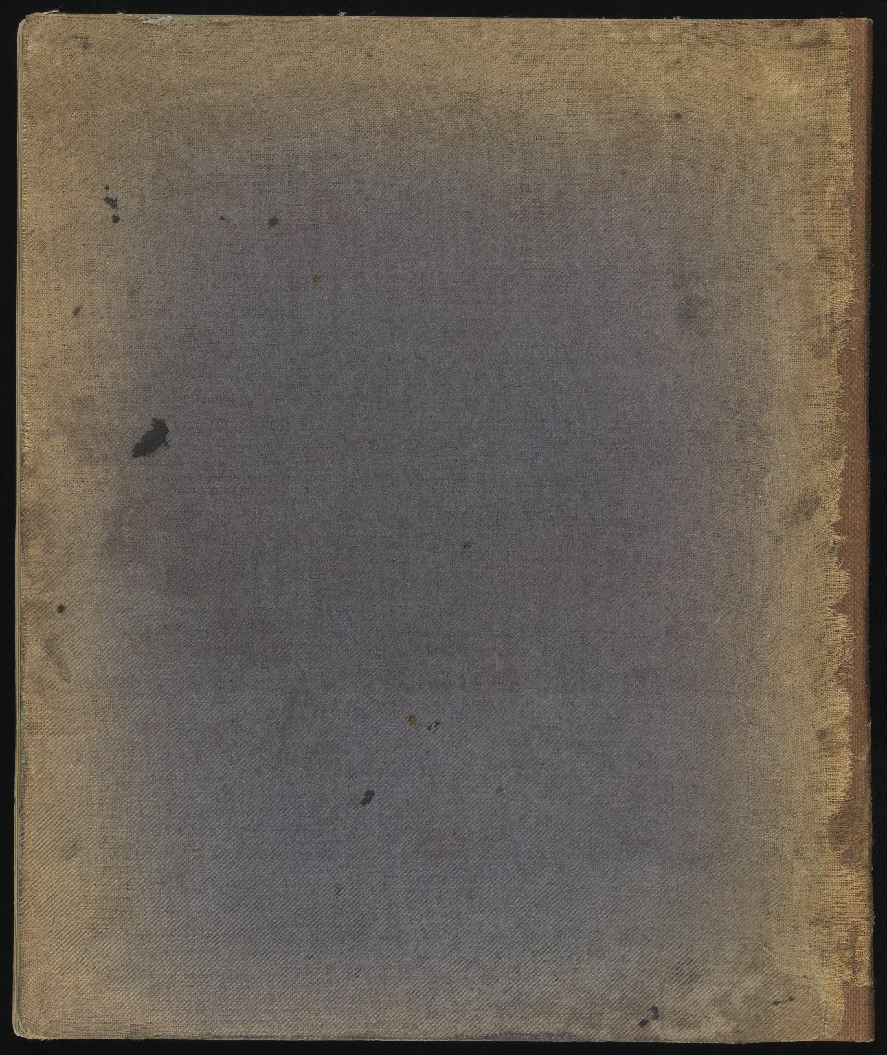 Field Notebook, Back cover