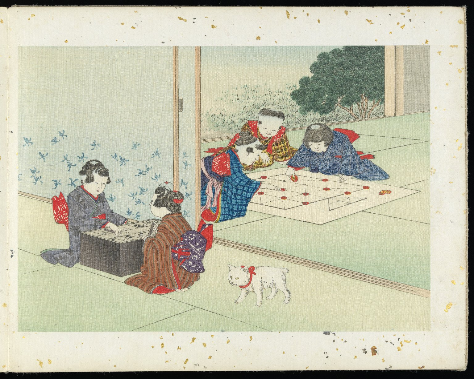 Japanese Paintings: Children's Games, 1894