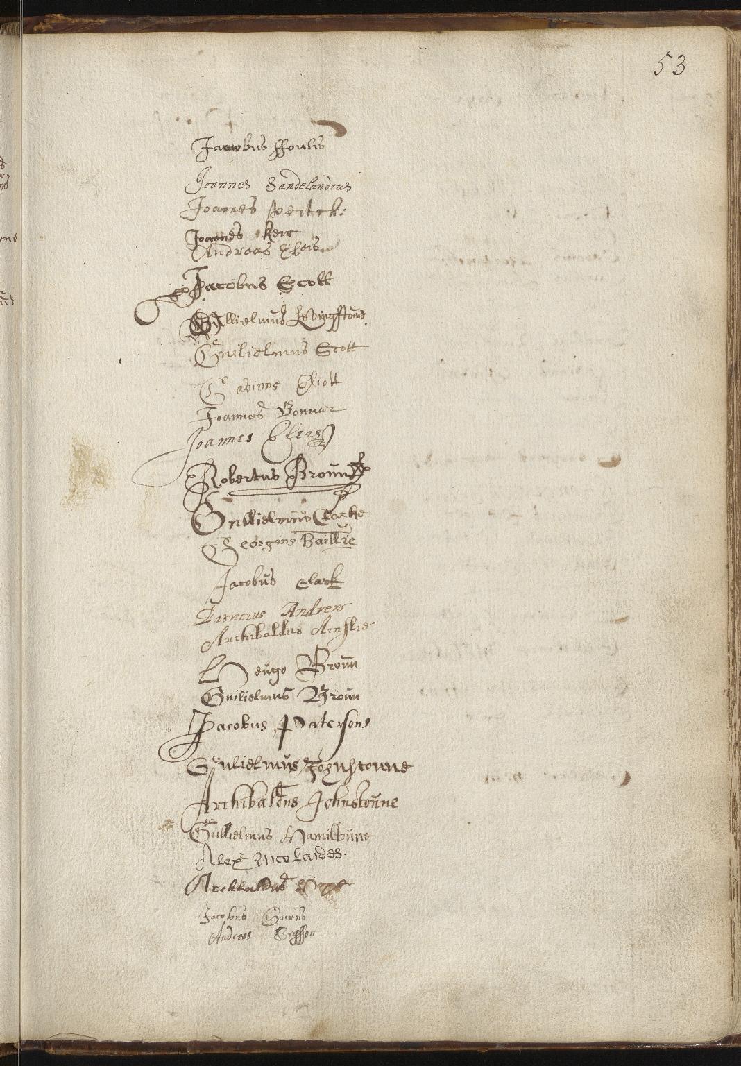 University of Edinburgh Matriculation Album (Volume One), p.53
