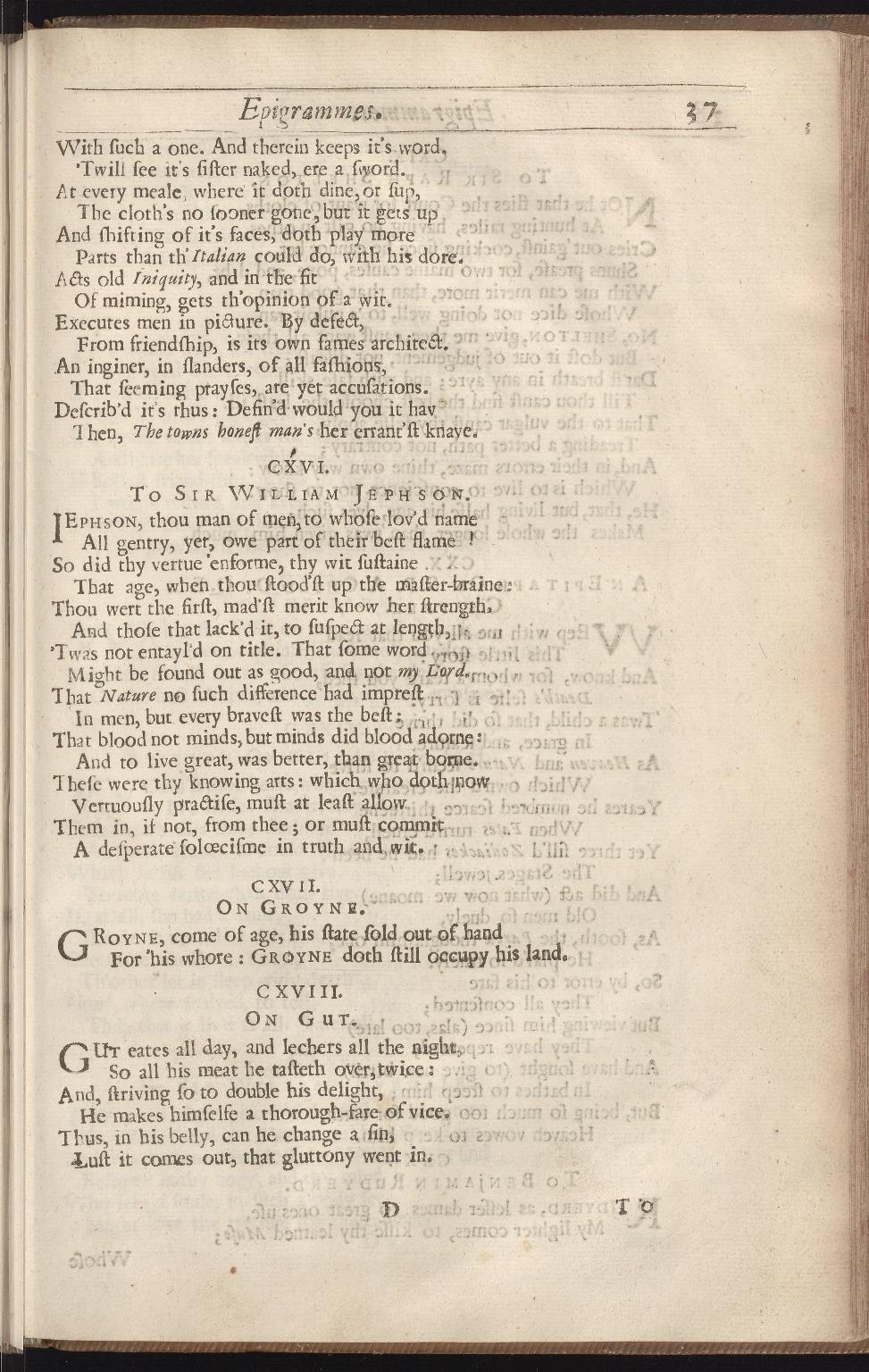 The workes of Benjamin Jonson, p.37