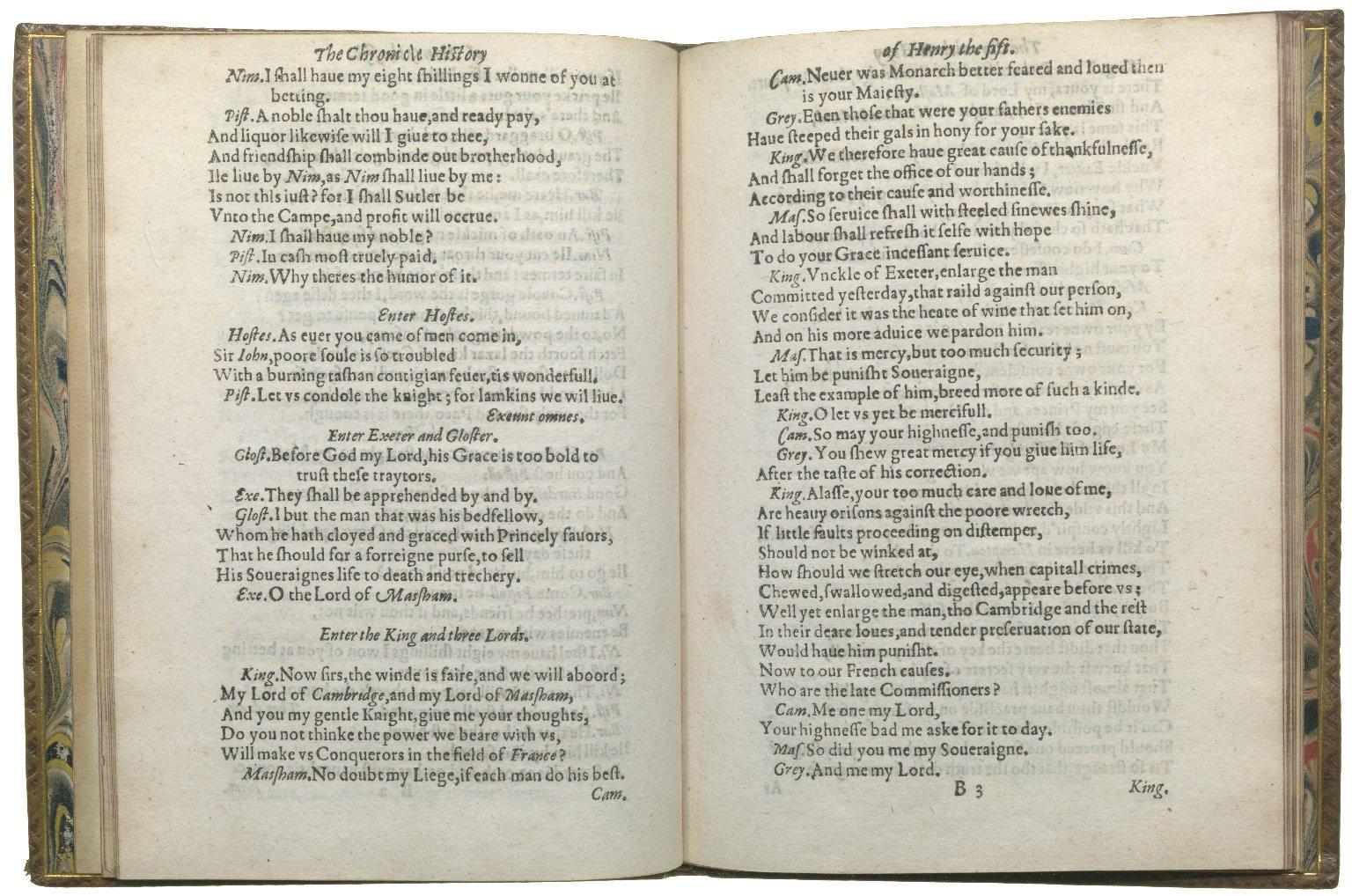 Henry V, 1619, ff.6v-7r