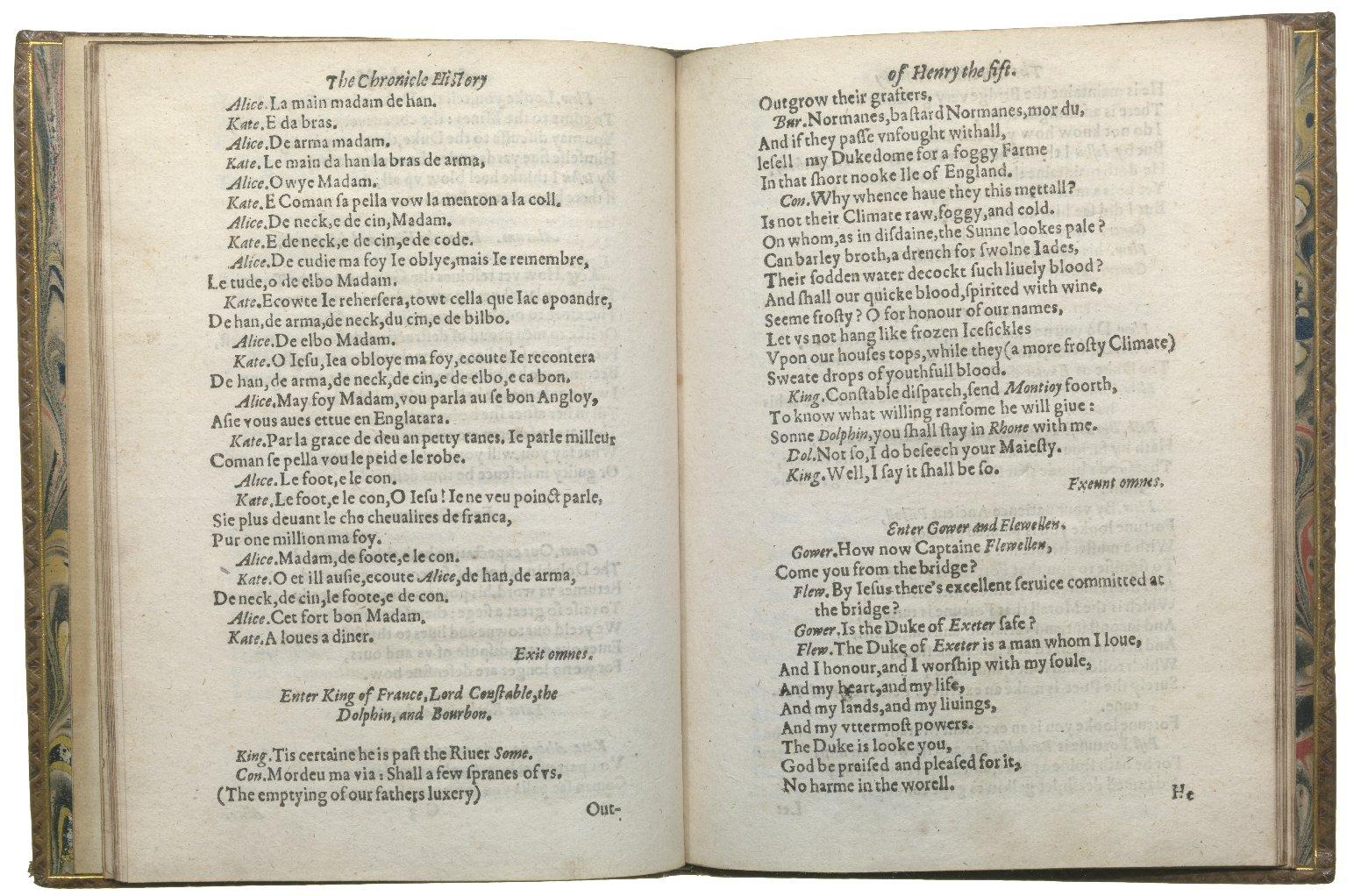 Henry V, 1619, ff.11v-12r