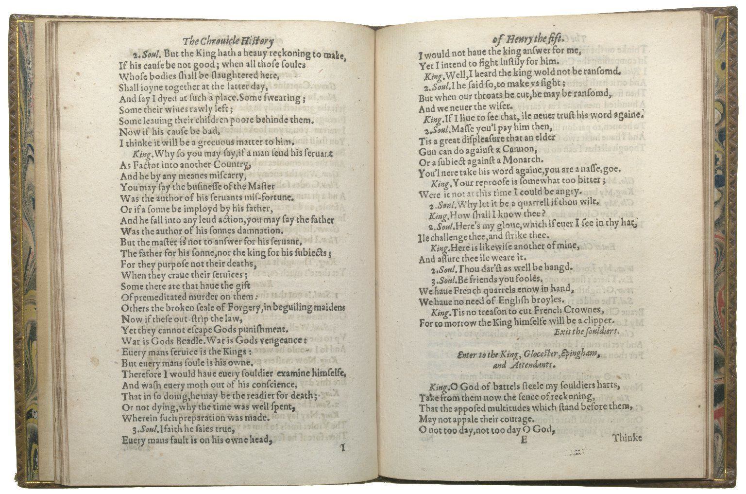 Henry V, 1619, ff.16v-17r