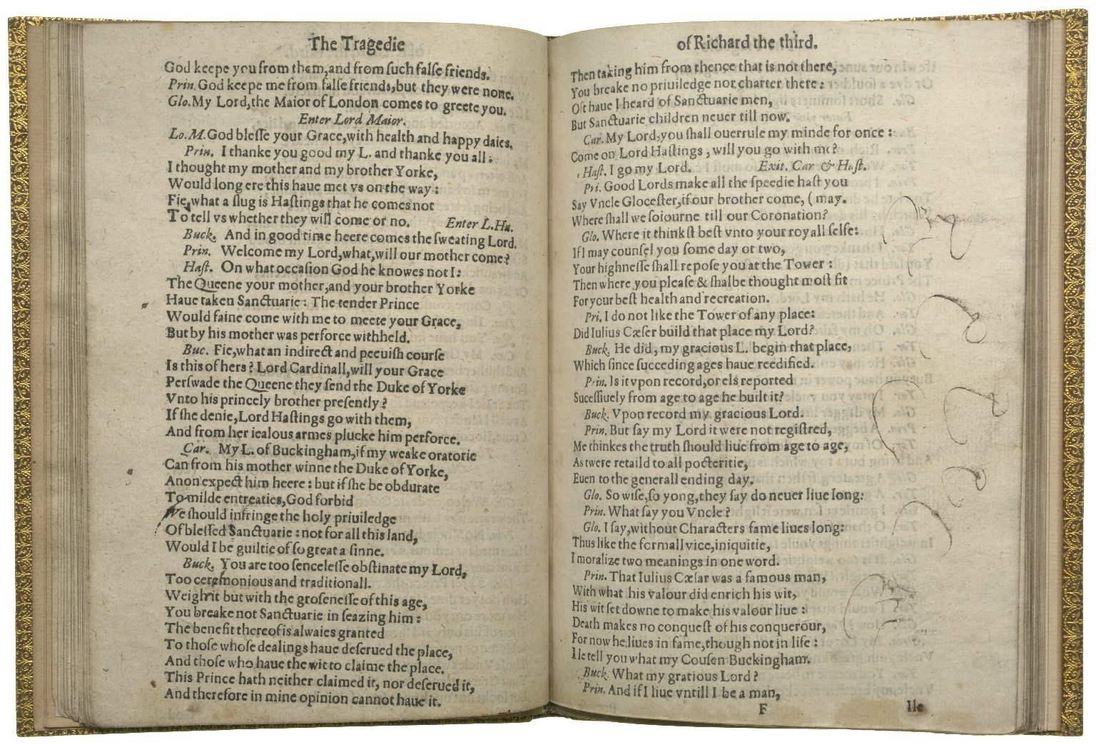 Richard III, 1612, ff.19v-20r