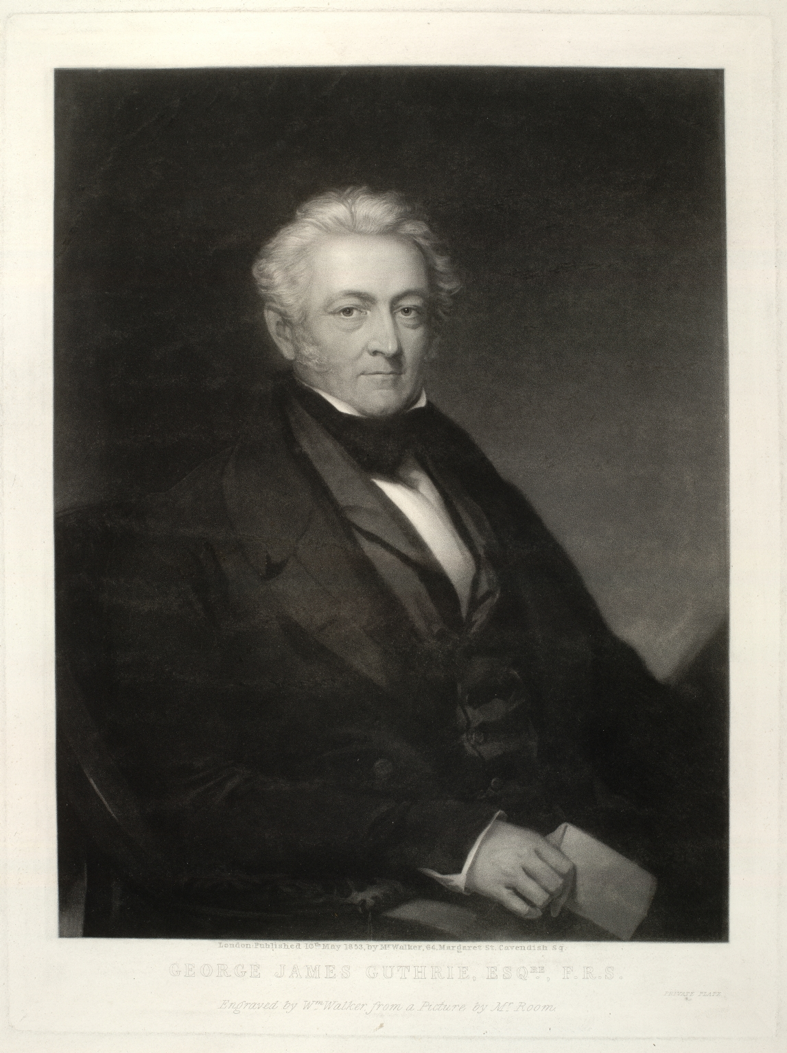 George James Guthrie (1785-1856), PRCS, FRS. Surgeon