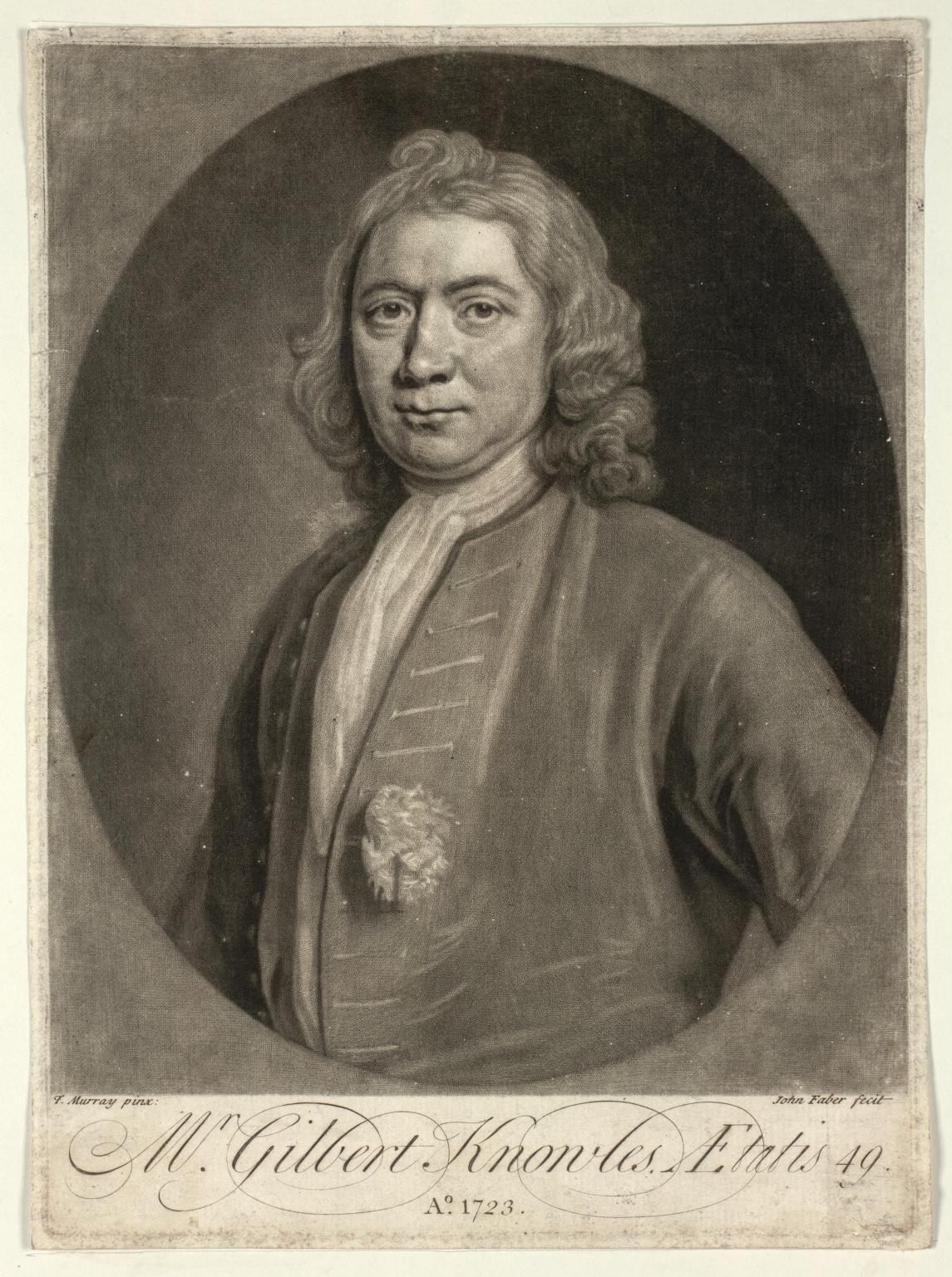 Knowles, Gilbert, fl. 1723