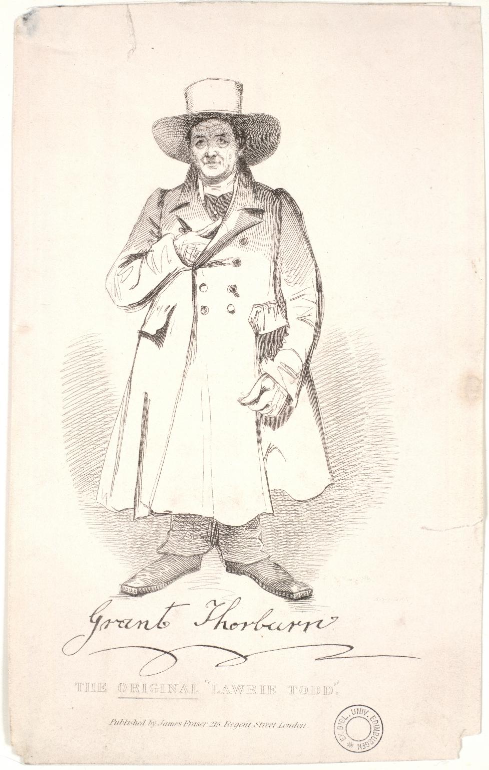 Thorburn, Grant, 1773-1863 (I assume)