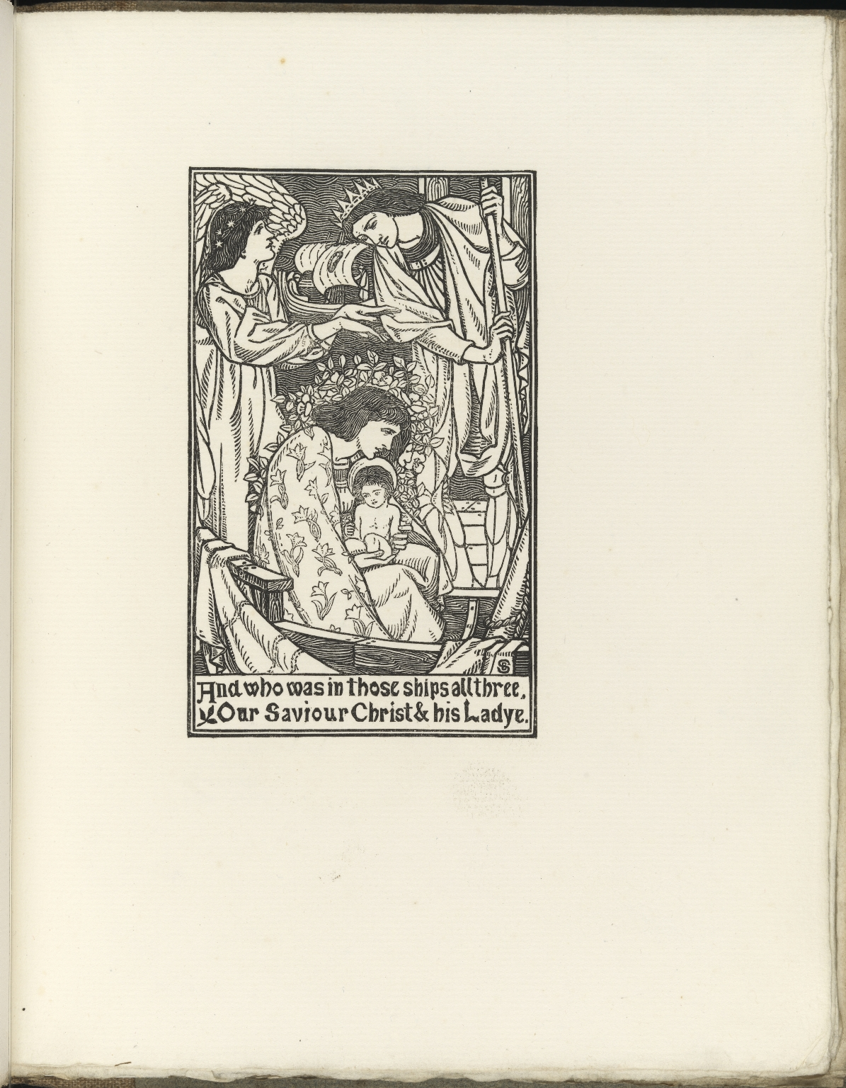 A Book of Pictured Carols, p.25