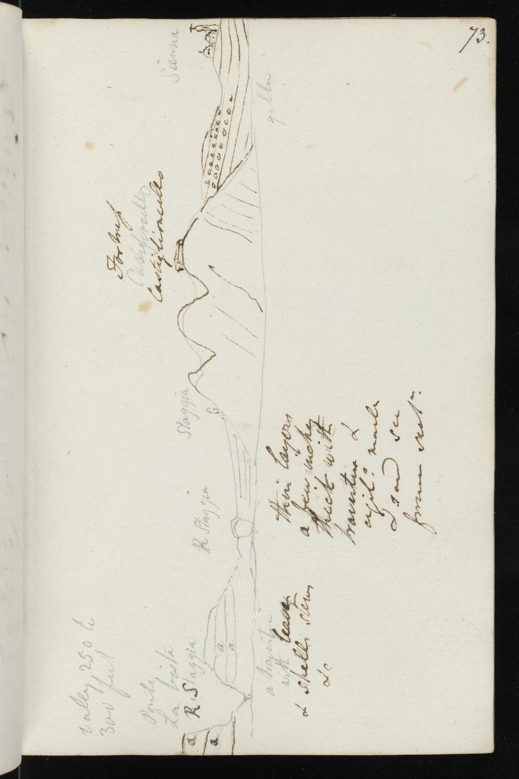 Notebook No.22, Lyell, Charles (Sir) - page p.73