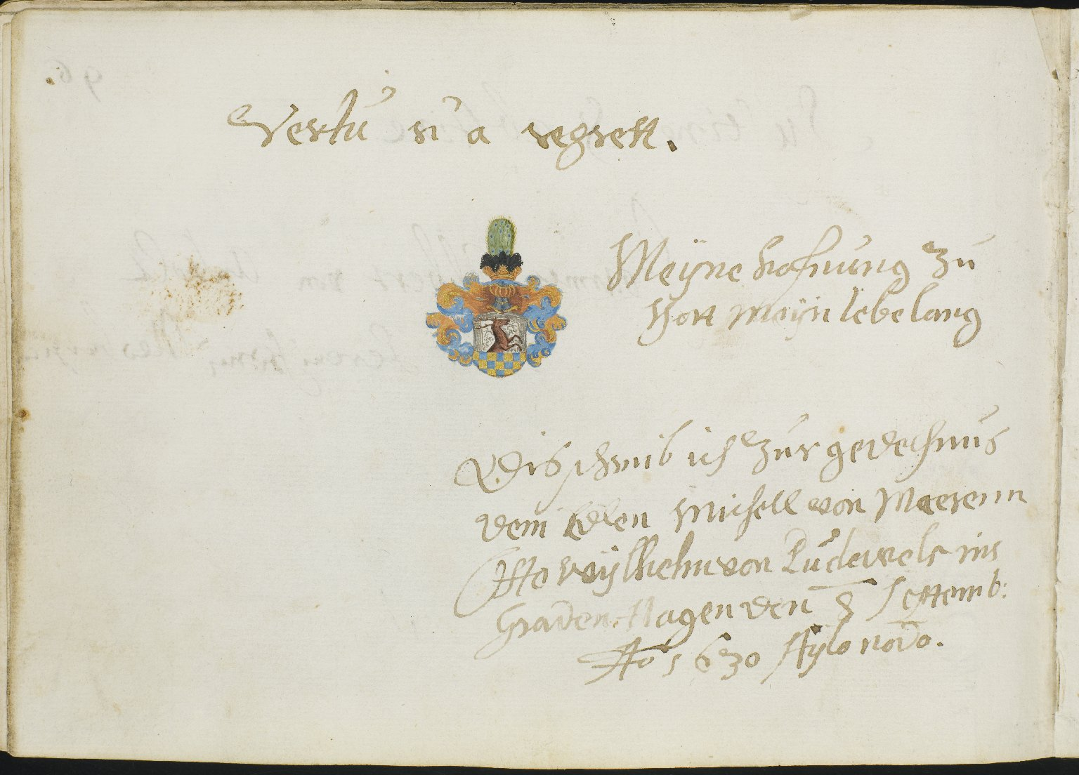 Album Amicorum, f.107v