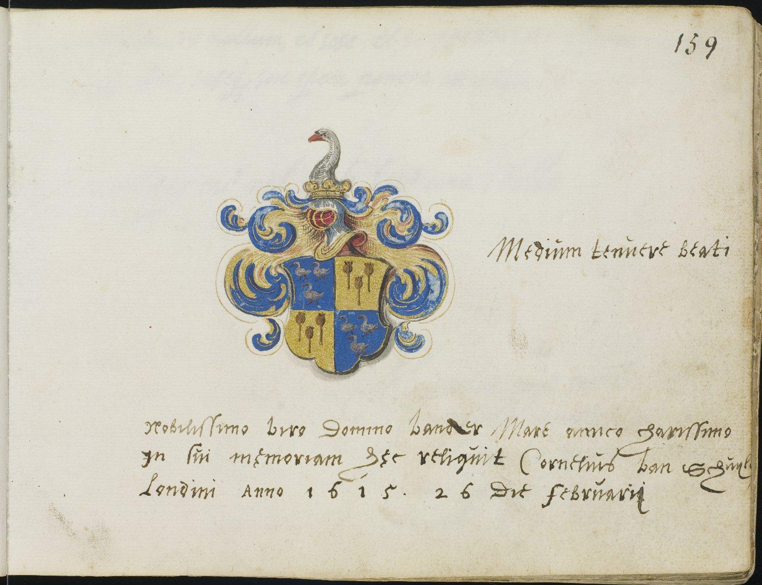 Album Amicorum, f.169r