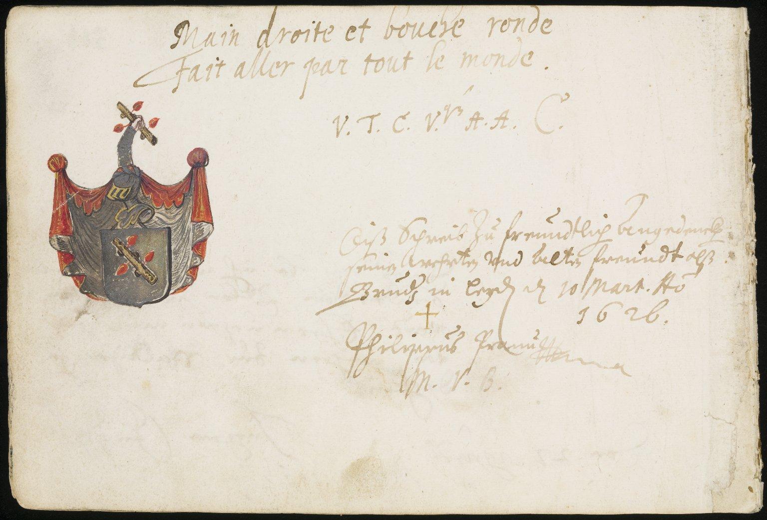 Album Amicorum, f.517v