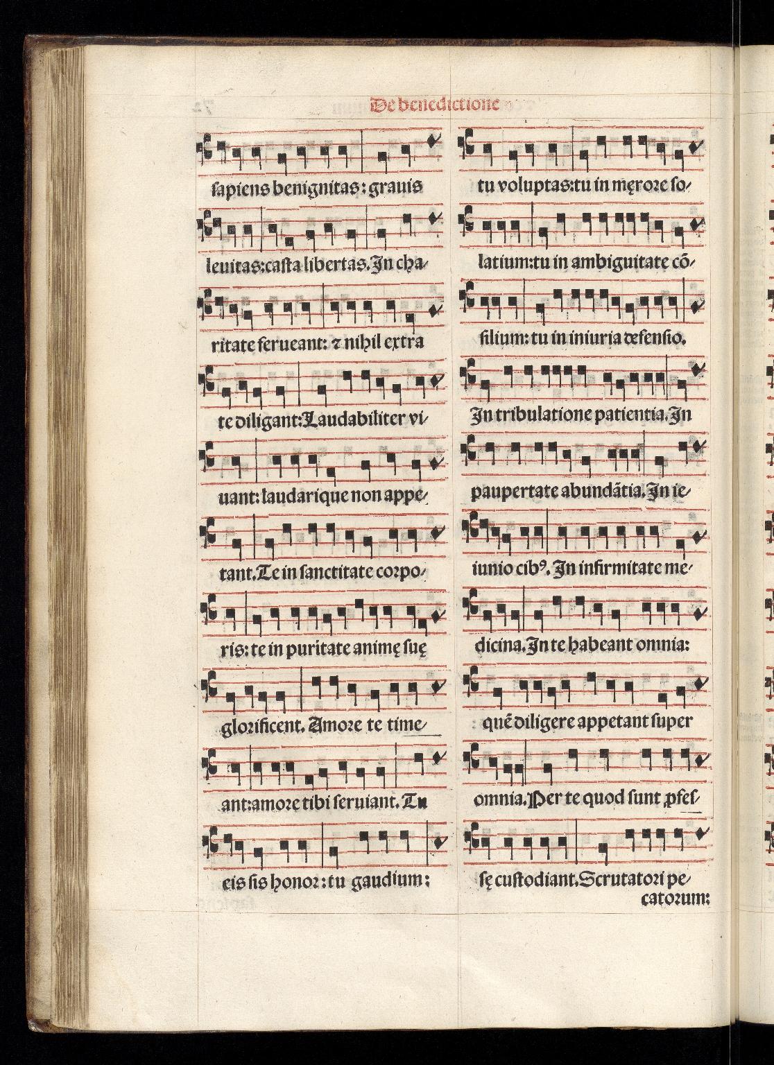 Pontificale Romanum, f.72v