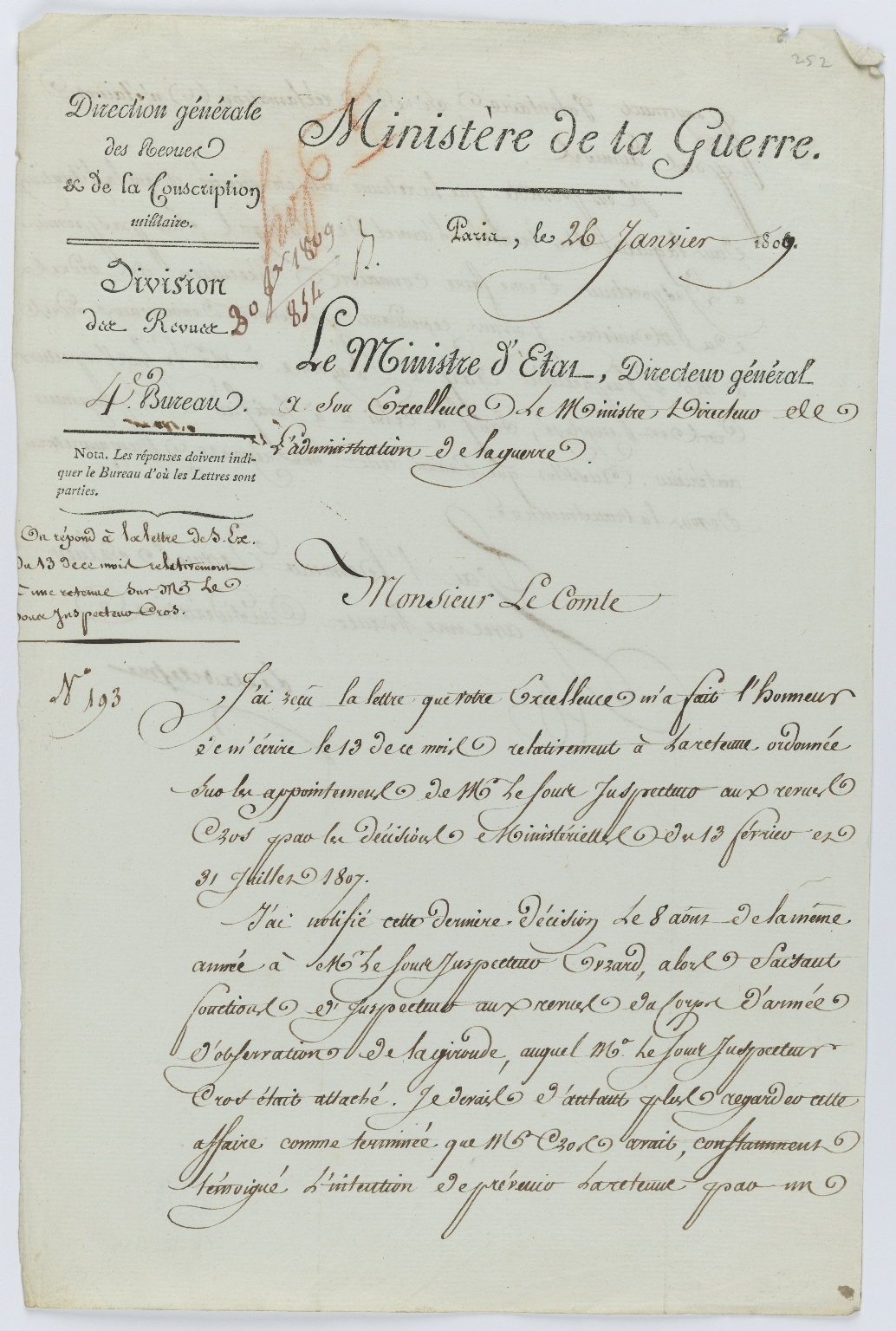 Official document, f.252r