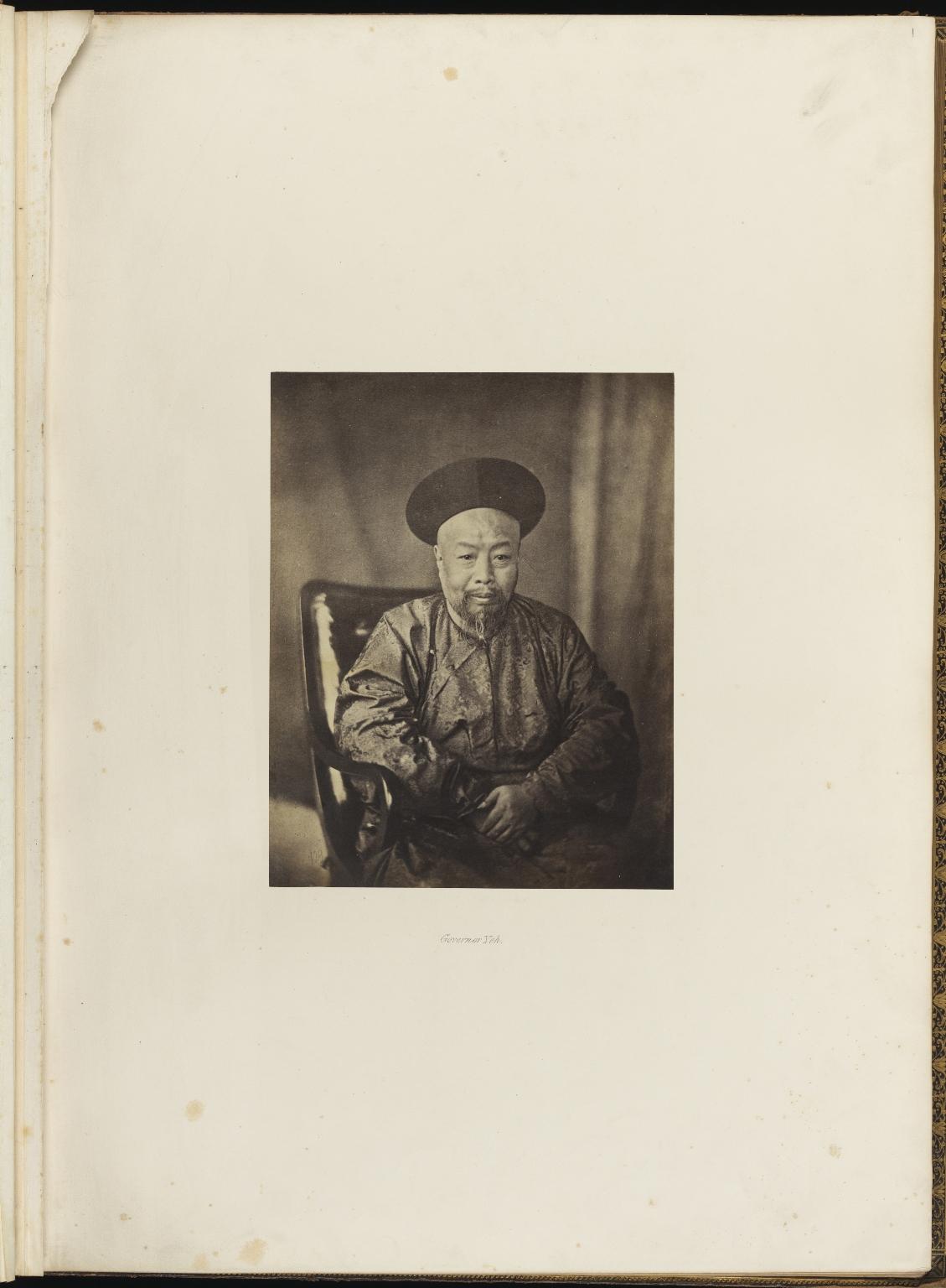 "Photograph Album ""China"", f.1r"