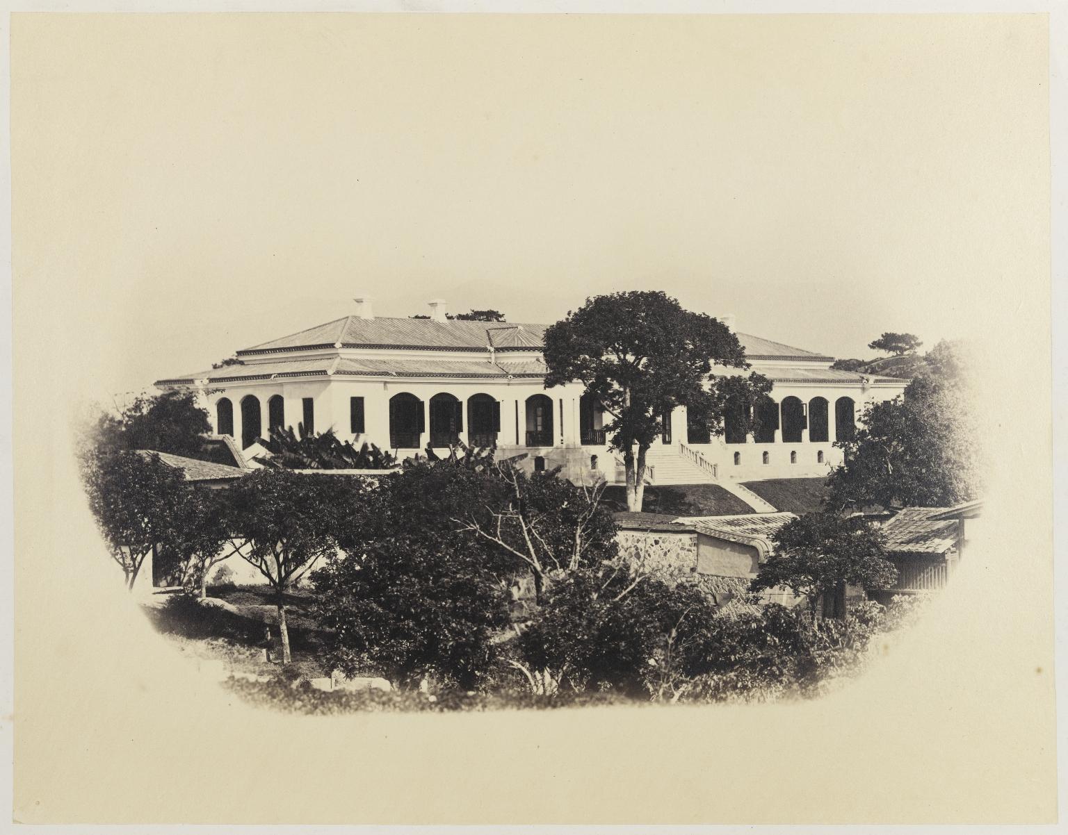 "Photograph Album ""China"", f.57r, detail"