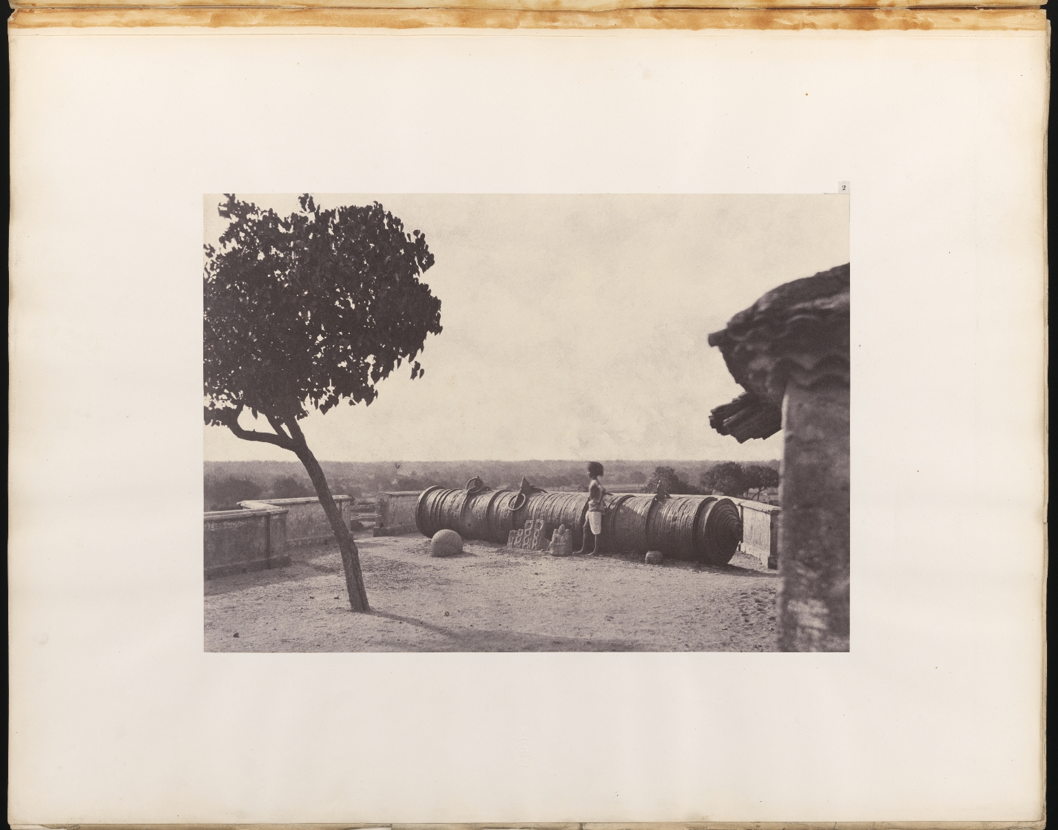 Photographic Views in Tanjore and Trivady, unpaginated. Photograph no. 2