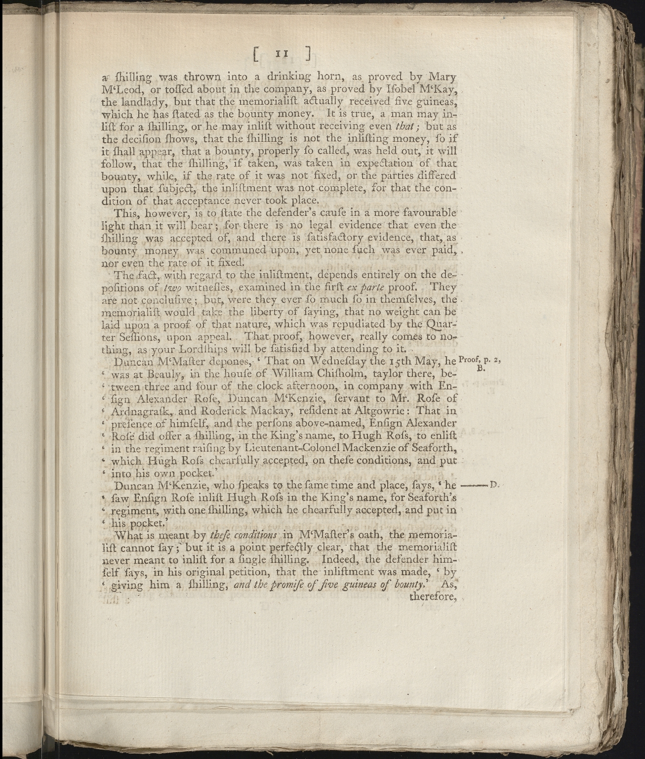 Scottish Court of Session Papers